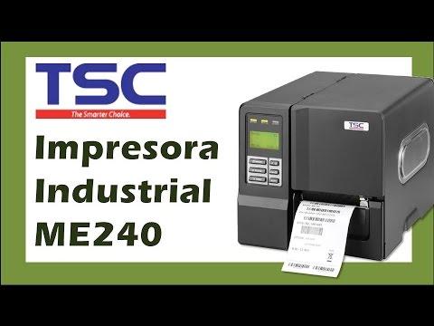 TSC ME240 / ME340 Impresora Industrial de Etiquetas y Códigos Autónoma