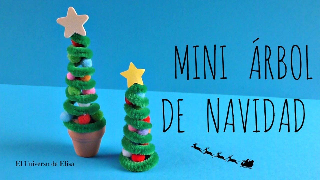 Manualidades para Navidad, Mini Árbol de Navidad, Abeto de Navidad Kawaii