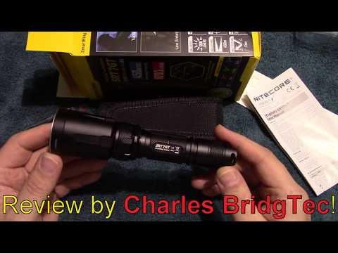 Nitecore SRT7GT Flashlight Review!