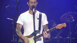 Maroon 5, I Won't Go Home Without You, Manchester 13.01.2014