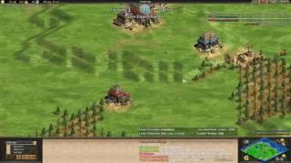 AoE2 - Funny Expert Nomad! - TheViper vs Lyx!