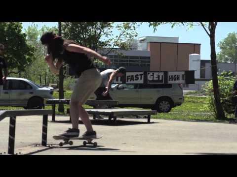 Annie Guglia - Technical Skateboards Demos 2015