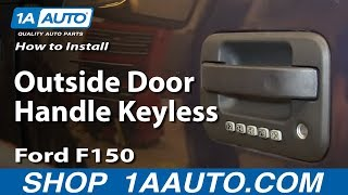Replace Keyless Door Entry