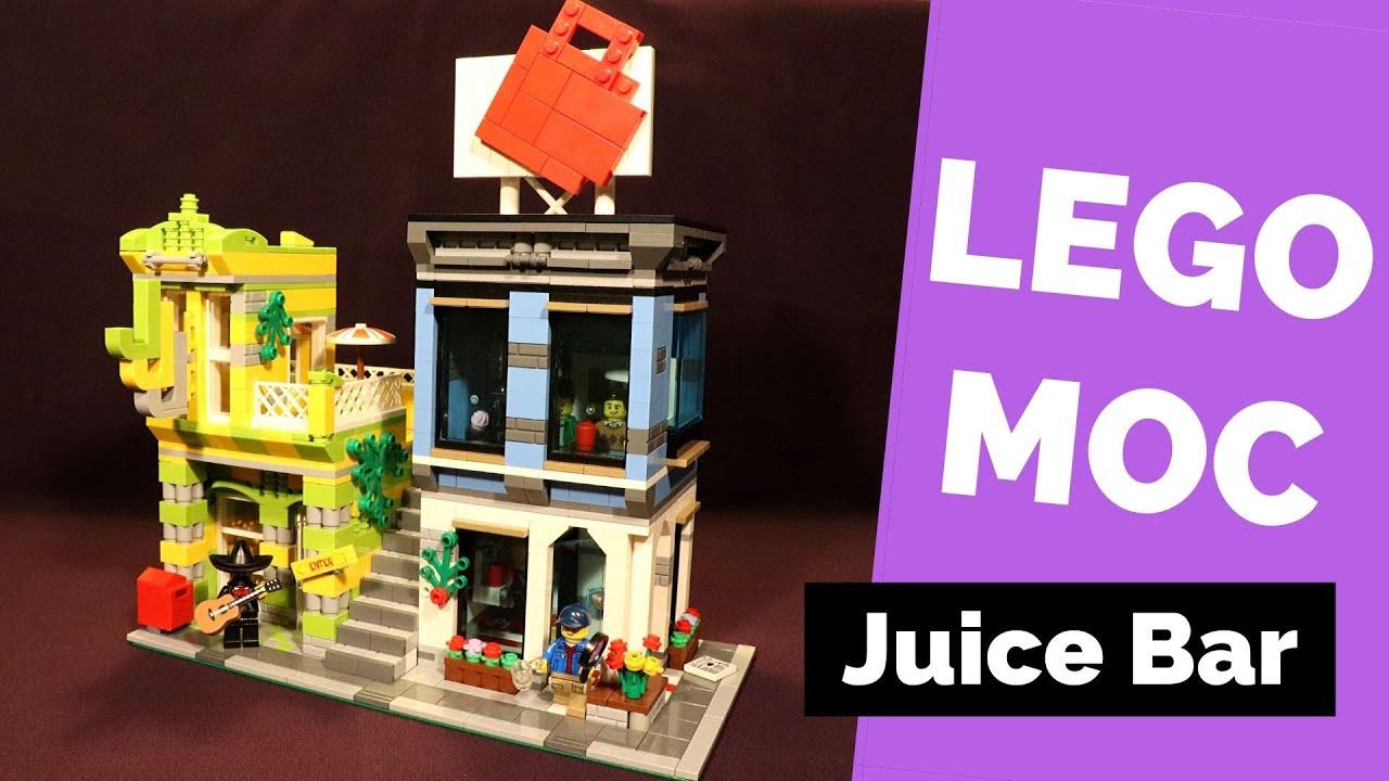 LEGO MOC: Juice Bar