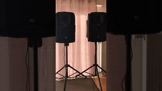 RCF Art 712-A MK4 Soundcheck Test Demo Klangtest