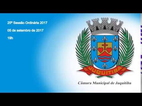 Câmara Municipal de Juquitiba 25ª Sessão Ordinária - 2017 - Ex Prefeito Francisco Junior contas reprovadas 8 anos inelegível
