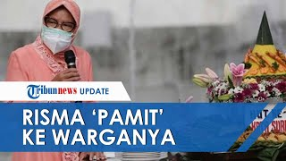 Rayakan Hari Jadi Kota Surabaya di Akhir Jabatannya, Tri Risma 'Pamit' ke Warga: Saya Sangat Percaya