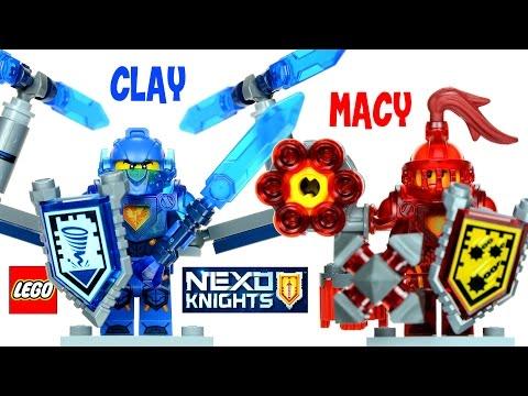 Vidéo LEGO Nexo Knights 70331 : Macy l'Ultime chevalier