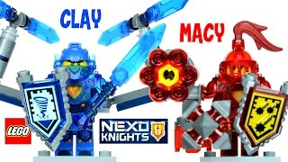LEGO® NEXO KNIGHTS Ultimate Clay 70330 & Ultimate Macy 70331Review