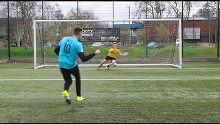 EPIC YOUTUBER PENALTY SHOOT OUT!!