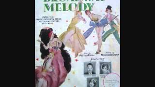 Irving Kaufman - Broadway Melody (1929)