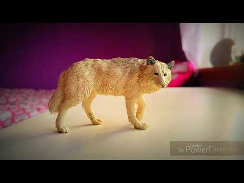 """My Schleich wolves in real life part 2"" toys"