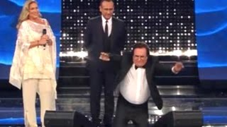 preview picture of video 'SANREMO 2015 AL BANO E ROMINA SHOW DELIRIO DELL'ARISTON'