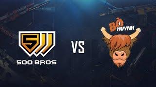 500Bros vs BÒ HUYNH Showmatch on Server B5 - Game 3 - Mirage