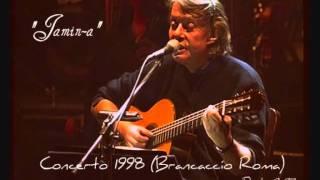 """2) """"Jamin-a"""" - Fabrizio De André (Concerto  """"Brancaccio"""" 1998)"""
