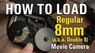How To Load 8mm Film (Crash Course)