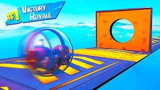 IMPOSSIBLE BALLER DON'T MOVE SKILL TEST in Fortnite Battle Royale!