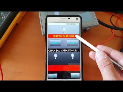 Video of HMI LOGO! OBA7  OBA8 & S7-1200