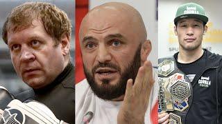 Исмаилов дал совет Емельяненко после ареста, дата дебюта Шавката Рахмонова в UFC