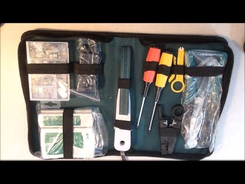 MTC Tools – Network Tool Kit, Cable Tester, Crimper & Stripper Set Review
