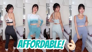 GYM OUTFIT TRY-ON HAUL + GIVEAWAY!!! | Angel Dei