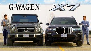 2019 BMW X7 vs Mercedes G-Class // Battle Of The Ballers