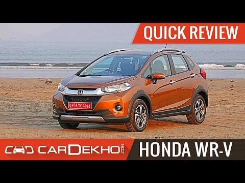 Honda WR-V | Quick Review | CarDekho