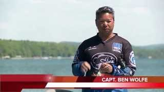 How to fish for smallmouth bass using spinner bait