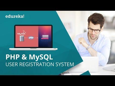 User Registration System Using PHP And MySQL Database   PHP MySQL Tutorial   Edureka