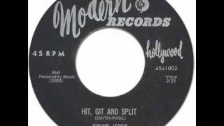 YOUNG JESSIE - Hit, Git And Split [Modern #1002] 1956