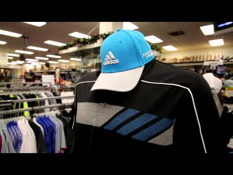 Shopping for golf apparel at Plaza Golf