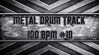 Easy Metal Drum Track 100 BPM (HQ,HD)