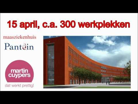 Martin Cuypers verzorgt inrichting kantoren Pantein maasziekenhuis