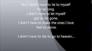 3 Doors Down   Heaven Lyrics