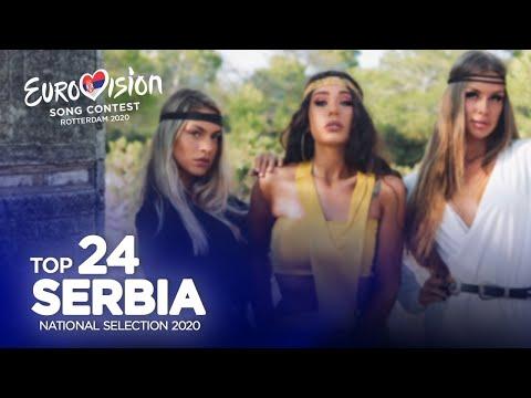 🇷🇸: Eurovision 2020 - Beovizija 2020 - Top 24