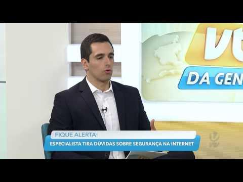 Claudio Marcellini em entrevista sobre Segurança Digital – VTV SBT 2017