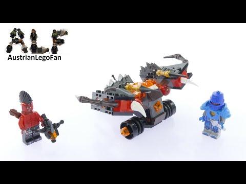 Vidéo LEGO Nexo Knights 70318 : Le lance-globe