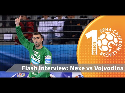 Vukovljak & Car after the match! I Nexe vs Vojvodina I Flash interview