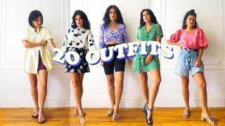 20 CASUAL OUTFIT IDEAS FOR SUMMER 2019, THRIFTED, EASY
