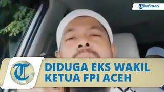 Viral Video Pria Ajak Lawan Larangan Mudik, Kini Diamankan Polisi, Diduga Eks Wakil Ketua FPI Aceh