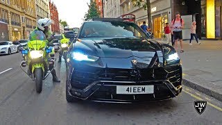 Lord Aleem's 2018 Lamborghini Urus PULLED OVER By POLICE in London! REVS & More Exhaust Sounds!