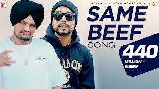 Same Beef | Bohemia | Ft. | Sidhu Moose Wala | Byg Byrd | New Punjabi Song 2019