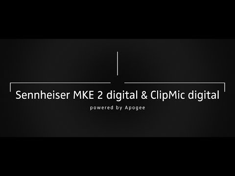 """Perfect Clarity"" ClipMic Digital & MKE2 Digital"