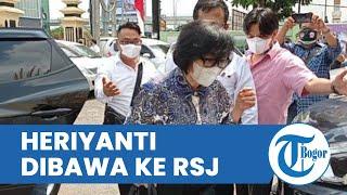 Update Kasus Sumbangan Fiktif Rp2 Triliun dari Keluarga Akidi Tio, Heriyanti Dibawa Polisi ke RSJ