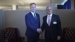 Հայաստանի ԱԳ նախարարը հանդիպեց Ֆրանսիայի արտաքին գործերի պետքարտուղար Ժան-Բատիստ Լըմուանի հետ