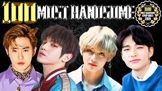 Top 100 Most Handsome Kpop Idols 2019