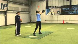 Fastpitch Softball Pitching Drill - Cone Drill for curveball