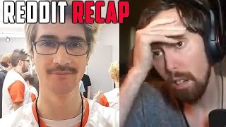 xQc Reacts to His Reddit & Top Funny Clips from LivestreamFails   Reddit Recap #44