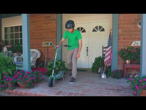 Razor RX200 Electric Scooter Ride Video
