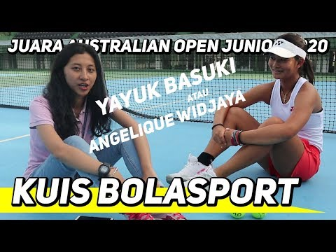Juara Australian Open Junior 2020 Bingung Pilih Yayuk Basuki atau Angelique Widjaja